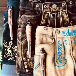Typisch bayerisch! Trachten-Accessoires für die Lederhose.